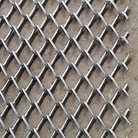 Hot-galvanised chainlink mesh